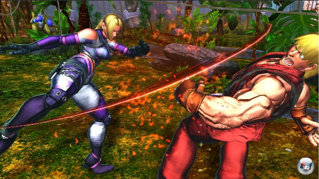 Aktuell steuern sich die Tekken-Figuren trotz ihrer bekannten Manöver noch wie Stret Fighter-Kämpfer - später soll man die Steuerung seinen Vorlieben anpassen dürfen.