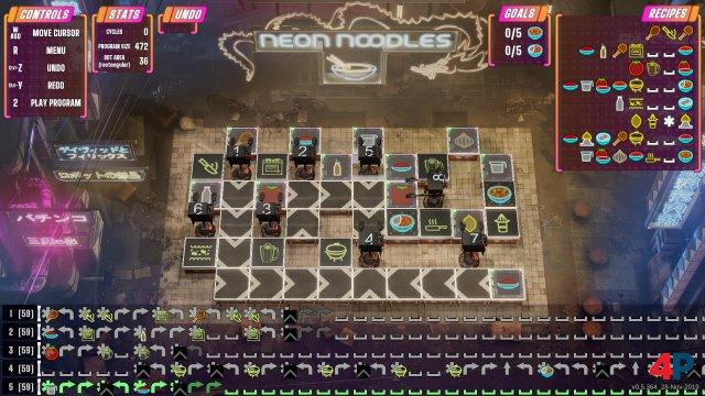Screenshot - Neon Noodles - Cyberpunk Kitchen Automation (PC) 92601530