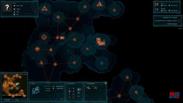 Mit der neuen Zoom-Funktion erhält man einen wesentlich besseren Überblick über das Schlachtfeld - nur leider sieht man vom Gelände nichts mehr.