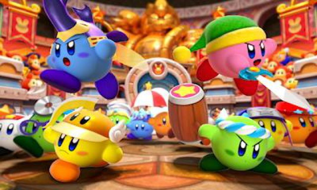 Screenshot - Kirby Battle Royale (3DS)