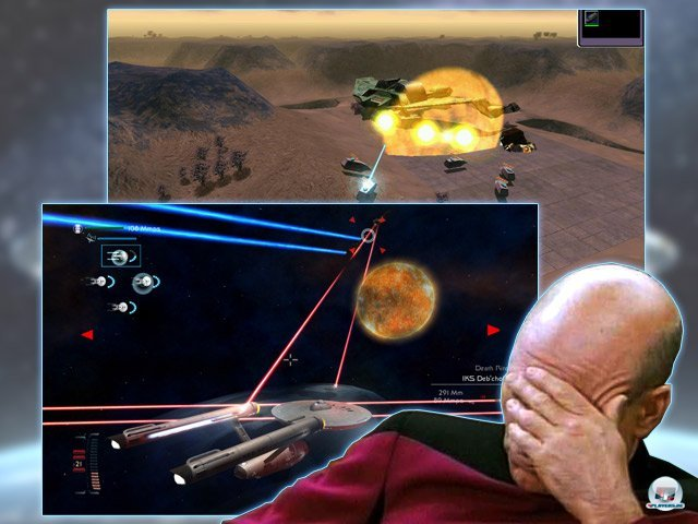 <b> Gurken (Star Trek: New Worlds, Star Trek: Legacy) </b> <br> <br> Neben den genannten Spielen, die alle mit einer gewissen Qualität aufwarten konnten, gab es natürlich auch viel Mist. Insbesondere das katastrophale Echtzeit-Strategiespiel Star Trek: New Worlds (2000, 14 Degrees East) sowie das mehr als uninspirierte Star Trek: Legacy (2006, Mad Doc) stehen hier Pate für eine ganze Reihe von Spielen, die das Star-Trek-Universum nicht gerade bereichert haben. 92459708