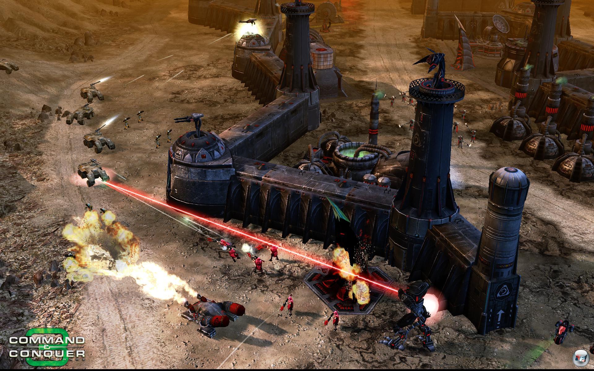 command and conquer 3 tiberium wars pc