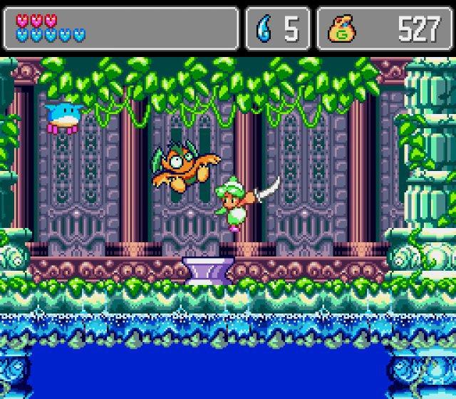 Screenshot - Wonder Boy: Asha in Monster World (PS4, Switch)