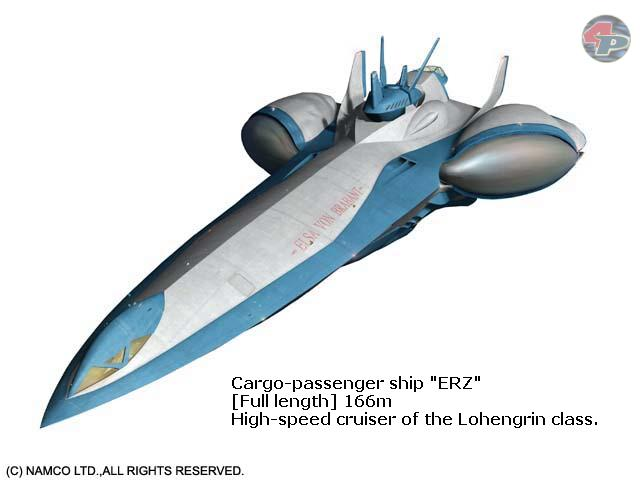 Die ERZ, ziviles Schmuggel- und Transportschiff. Matthews ganzer Stolz. 21435