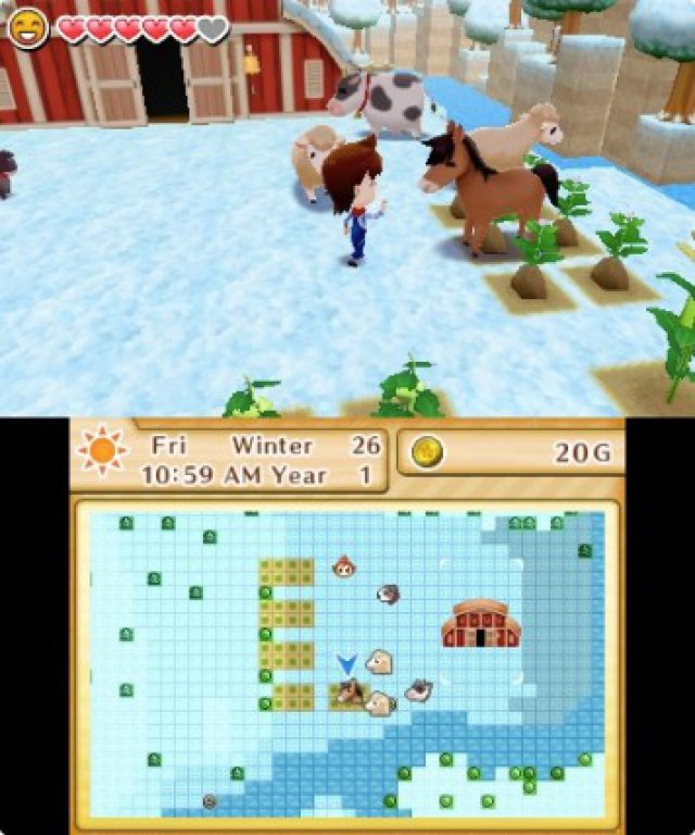 Screenshot - Harvest Moon: Das verlorene Tal (3DS) 92504993