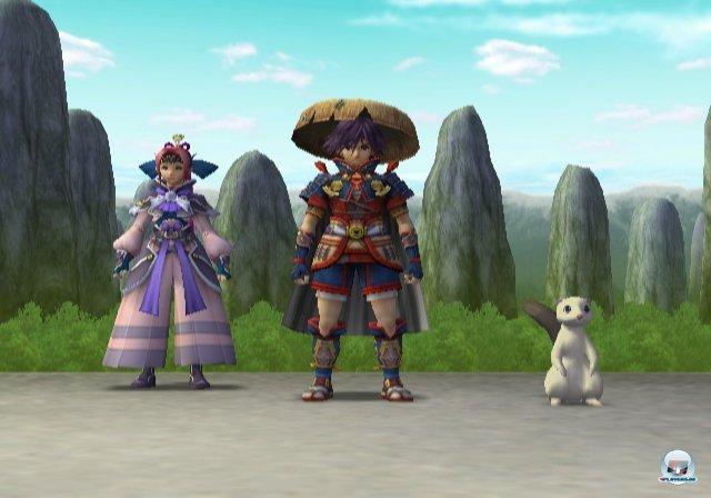 <b>Shiren the Wanderer</b><br><br> Auch in Japan wird dem Rogue-Prinzip gehuldigt. Der Durchbruch kam mit Chunsofts Mystery-Dungeon, es folgten Ableger bekannter Serien wie Pokémon Mystery Dungeon oder Chocobo's Dungeon. Die Shiren-Reihe gehört zu den traditionelleren und besonders gnadenlosen Vertretern. Mit dem auf dem Bild zu sehenden Wii-Ableger Shiren the Wanderer wollte man im Jahr 2010 erstmals auch Neulinge und weniger frustresistente Spieler ansprechen. Im Todesfall wird man nicht mehr auf Level eins zurück gesetzt, sondern kann auf der Charakterstufe weiterspielen, die man vor Betreten des letzten Dungeons inne hatte. Ein neuer Easy-Modus ermöglicht außerdem einen Speicherstand und dadurch die Rettung des Hab und Guts. 92413777