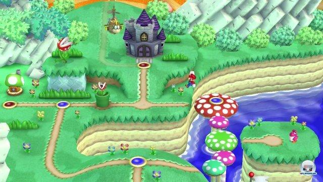 Die hübsche Oberwelt weckt schöne Erinnerungen an Super Mario World und ist mehr als nur eine Levelschleuse.