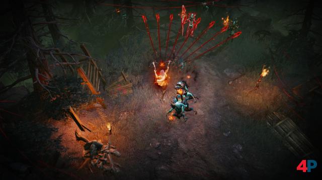 Grafikstil und Klassenauswahl erinnern schwer an Diablo 3.