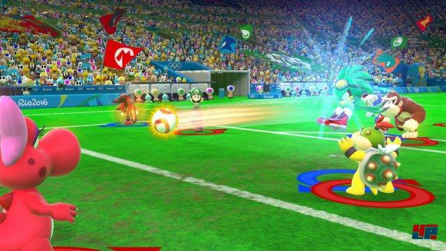 Passend zur EM in Frankreich darf in Rio auch Fußball gespielt werden.