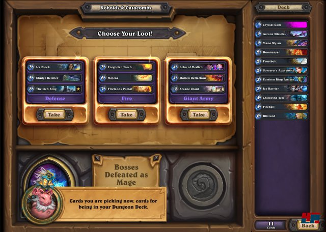 Screenshot - Hearthstone: Kobolde & Katakomben (Android)