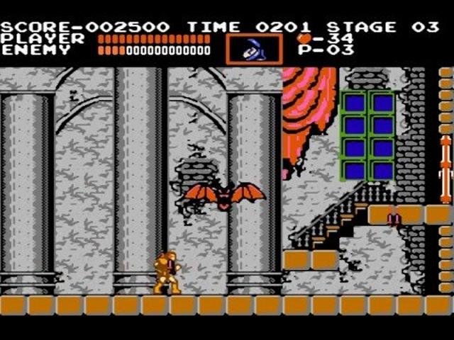 Die frühen Castlevania-Spiele drehten sich in aller Regel darum, dass der wackere Simon Belmont ein Problem mit Graf Dracula persönlich hatte und ihm gerne seine wenig subtil benannte Peitsche »Vampire Killer« näher vorstellen wollte. Warum er ihm nicht einfach ein Paket Knoblauch ins Schloss schickte, wird für immer ein Geheimnis bleiben. Ein weiteres Markenzeichen der Serie war schon immer der hammerharte Schwierigkeitsgrad - etwas, das sich bis heute nicht geändert hat. 2164278