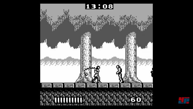 Es sind auch zwei GameBoy-Titel dabei, die sich technisch allerdings nicht von ihrer Schokoladenseite zeigen.