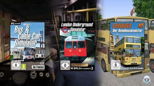 <b>Platz 11: Die Guten ins Kröpfchen, die Schlechten ins Töpfchen?!</b> <br><br>  Mit 80% überzeugte der OMSI im Test als bislang bester Berufssimulator. Auch die U-Bahn-Simulatoren der TML Studios können durchaus überzeugen (zuletzt der London Underground Simulator mit 73%). Doch beide Spiele von Aerosoft Spiele  kommen nicht an solche Verkaufszahlen heran. Dass es aber nicht am Vertrieb liegt, beweist der Bus- & Cable Car-Simulator: San Francisco (74%), dem ebenfalls kein Einzug in diese Top-Ten vergönnt ist. Und das, obwohl diese TML-Produktion von Astragon vertrieben wurde. Es ist und bleibt so unverständlich wie bedauerlich: Obwohl sich der Verkaufspreis bei diesen besseren  Simulationen  kaum von jenen der schwächeren unterscheidet, versauern sie in den Regalen der Händler. Das verstehe wer will, Aschenputtel und wir jedenfalls nicht! 2243689