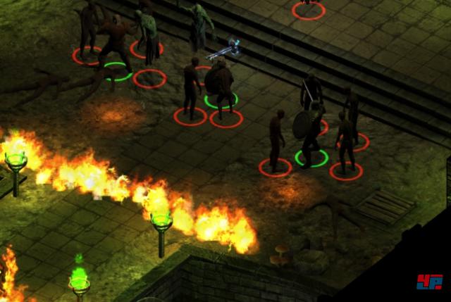 Screenshot - Black Geyser: Couriers of Darkness (Linux)