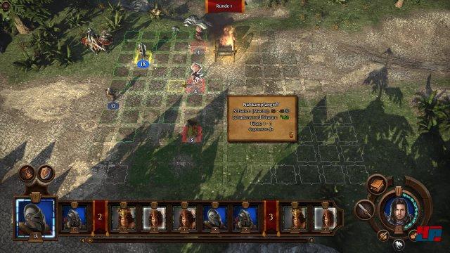 Die Schlachtfelder bieten konventionelle Auseinandersetzungen ohne Sichtlinien, Höhenunterschiede, Fallen etc.