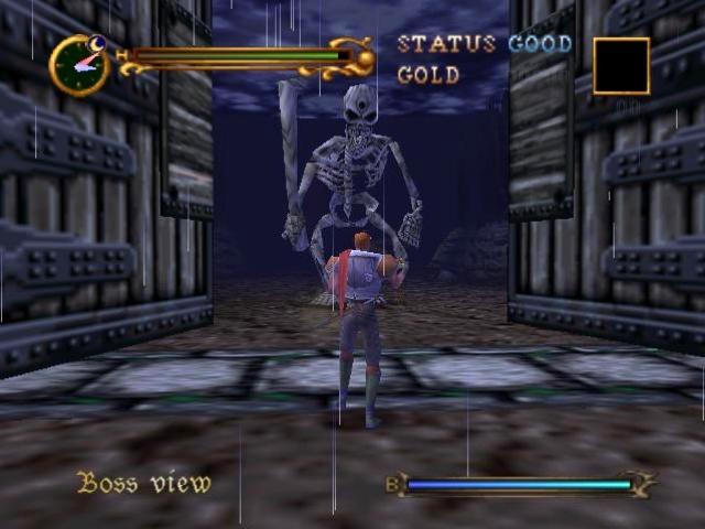 Ende der 90er Jahre war 2D-Grafik auf einmal unpopulär - alle neuen Konsolen konnten 3D, also hat gefälligst auch alles 3D zu sein! Wie uns die Geschichte gelehrt hat, gehen derartige Ansätze nur selten gut, gerade auf einer Konsole wie dem N64, dessen 3D-Fähigkeiten mehr berüchtigt denn berühmt sind. Folgerichtig sind »Castlevania 64« (das eigentlich nur »Castlevania« heißt, 1999) sowie »Legacy of Darkness« (ebenfalls 1999) in erster Linie Kandidaten für das Kuriositätenkabinett denn gut spielbare Plattformer. Auch über den PS2-Klopper »Lament of Innocence« (2003) sollte man besser nicht zu viele Worte verlieren. Aber damals war man ja für alles dankbar. 2164303