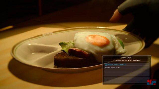 Die von Ignis gekochten Gerichte sehen köstlich aus und helfen stärker zu werden.