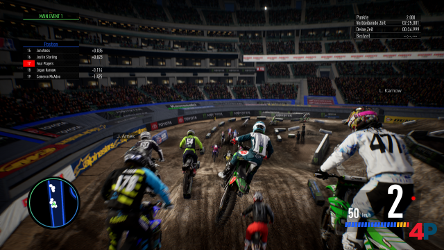Screenshot - Monster Energy Supercross - The Official Videogame 3 (PS4) 92605455
