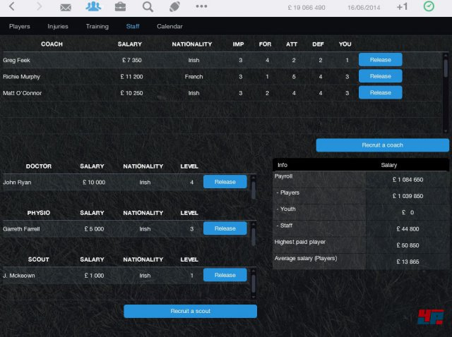 Screenshot - Pro Rugby Manager 2015 (iPad) 92486534