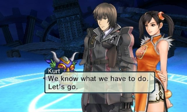 Screenshot - Project X Zone (3DS)