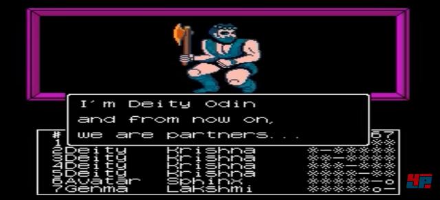 1987 erschien Megami Tensei auf dem japanischen NES.