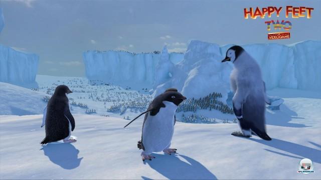 Screenshot - Happy Feet 2 - Das Videospiel (360) 2226284