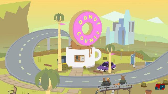 Screenshot - Donut County (iPad)