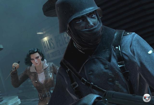 Und einen weiblichen Kumpel hat er mittlerweile auch: Violette, die Heldin des interessanten Weltkriegsschleichers Velvet Assassin. 2081898