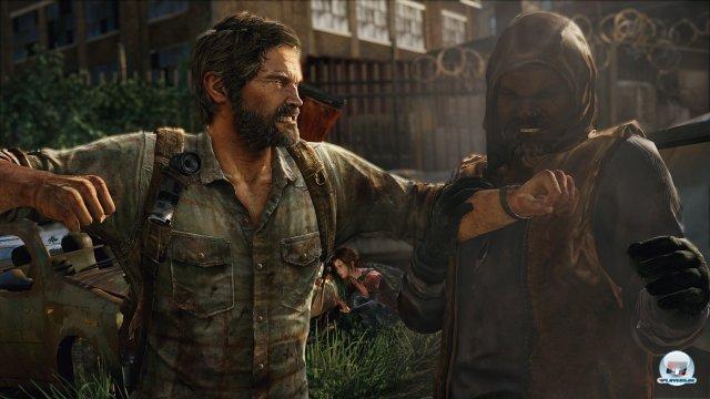 Die Gewalt dominiert das Amerika der nahen Zukunft: Joel muss des Öfteren mit allen Mitteln um sein Leben kämpfen.