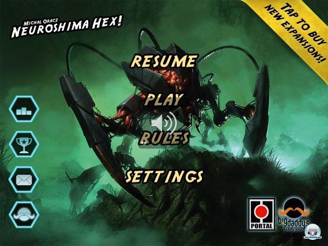 Tolles Artdesign, intutive Steuerung: Neuroshima Hex inszeniert edle Rundentaktik nach Brettspielvorbild.