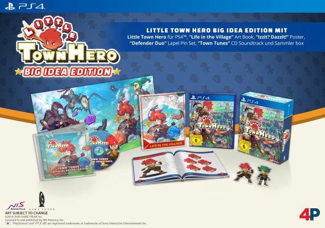 Screenshot - Little Town Hero (PS4)