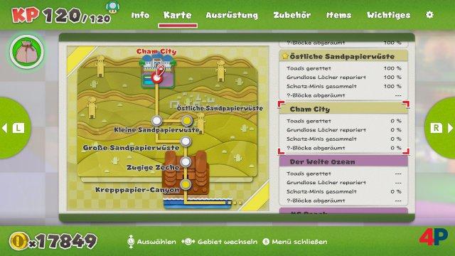 Screenshot - Paper Mario: The Origami King (Switch) 92619590