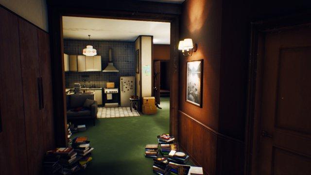 Als Kind hat Spielfigur Nicole in dieser Wohnung im Westflügel des Hotel gelebt - als sie zurückkehrt, werden viele Erinnerungen wach.