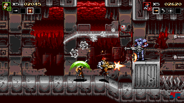Screenshot - Blazing Chrome (PC) 92561641