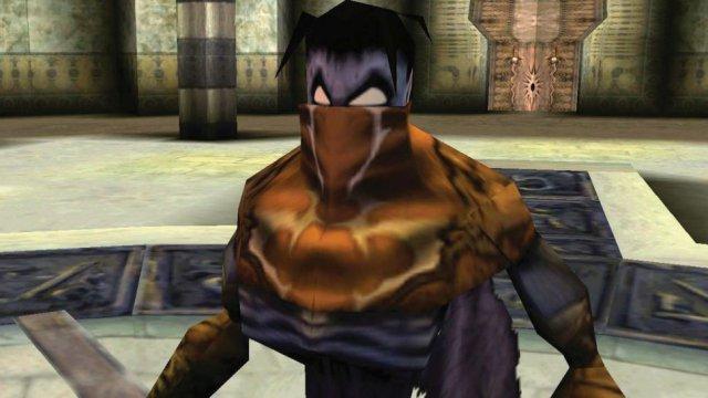 Raziel wird in Soul Reaver zum Todesengel und Wanderer zwischen den Welten.