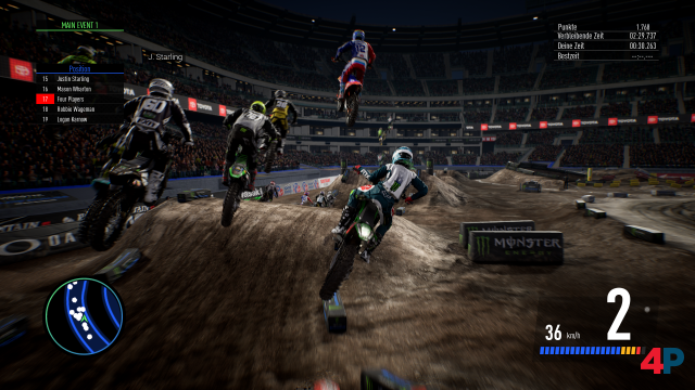 Screenshot - Monster Energy Supercross - The Official Videogame 3 (PS4) 92605454