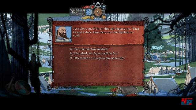 Screenshot - The Banner Saga 2 (PC) 92524987