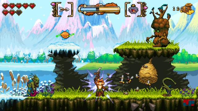 Screenshot - Fox n Forests (Linux)