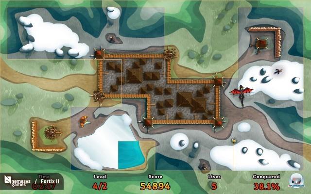Screenshot - Fortix II (PC)