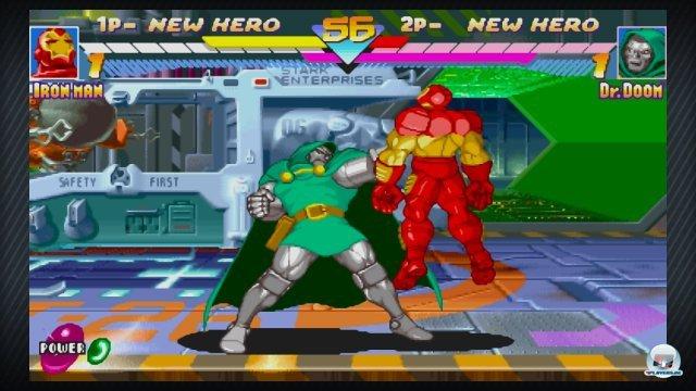 Screenshot - Marvel vs. Capcom Origins (360)