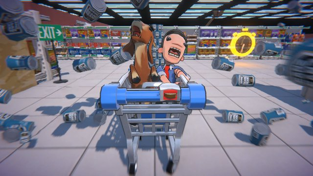 Screenshot - Supermarket Shriek (PC, PS4, Switch)