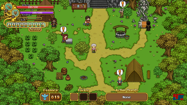 Screenshot - Secrets of Grindea (PC)