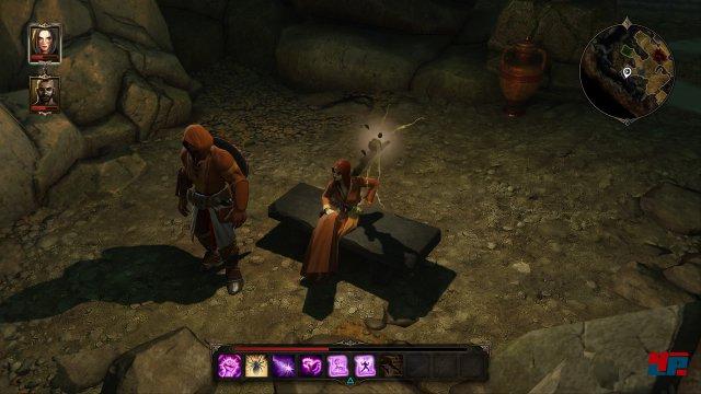 Roderick und Scarlett - oder wie sie auch heißen mögen - bestreiten das Abenteuer auch in der Enhanced Edition gemeinsam.