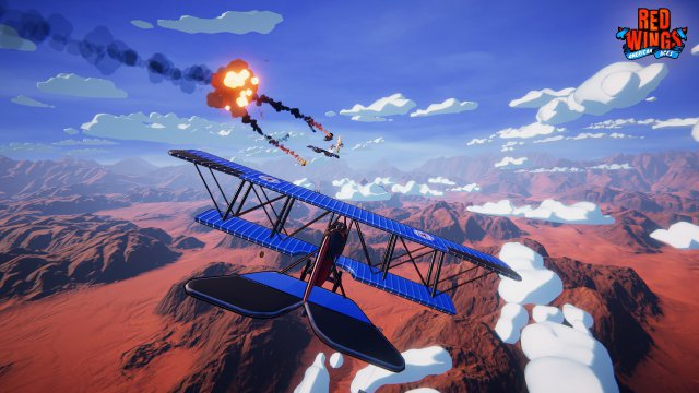 Screenshot - Red Wings: American Aces (PC)