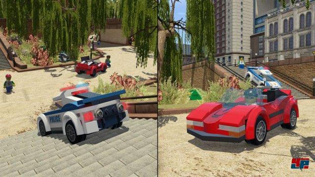 Das neue Version von Lego City Undercover bietet den bekannten Splitscreenmodus für kooperativen Spaß.