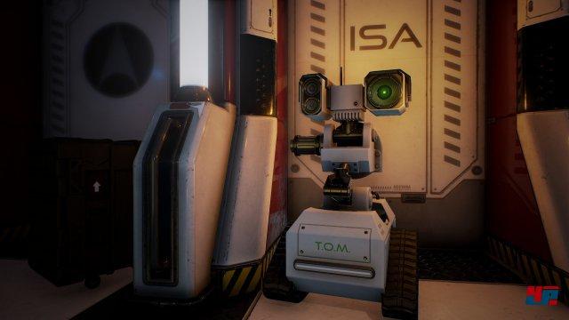 Später bekommt man auch die Möglichkeit, die Kontrolle über Roboter und Kameras zu übernehmen.