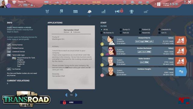 Screenshot - TransRoad: USA (Mac) 92554012