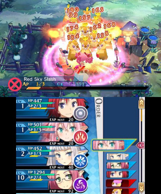 Screenshot - Lord of Magna: Maiden Heaven (3DS) 92503800
