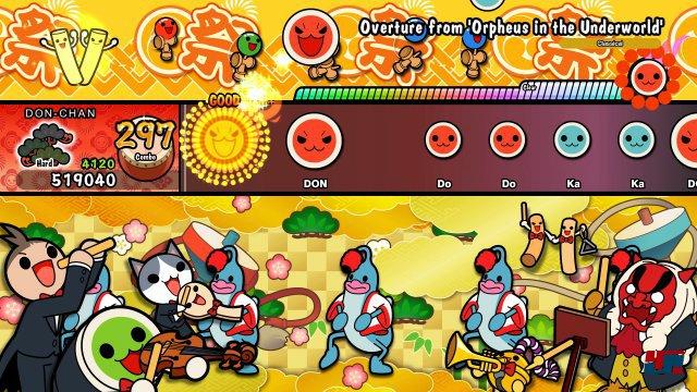 Screenshot - Taiko no Tatsujin: Drum 'n' Fun! (Switch) 92570319