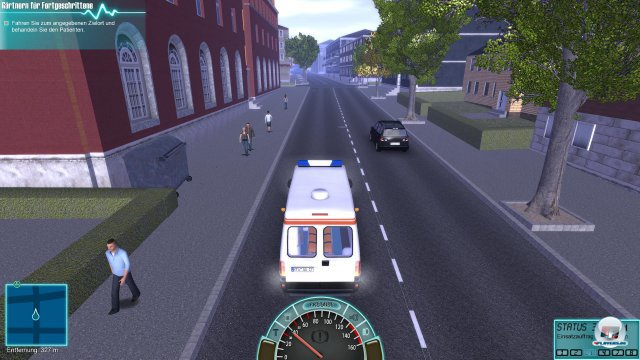 Screenshot - Rettungswagen-Simulator 2014 (PC)